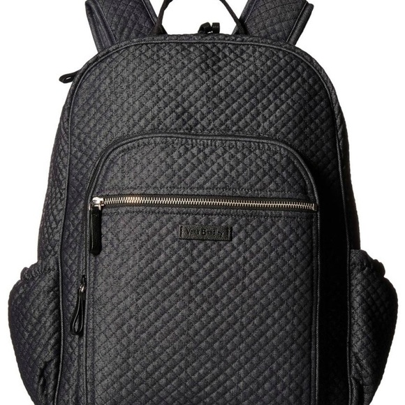 NWT Vera Bradley Iconic Backpack Denim Navy